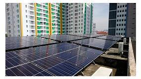 Foto de Inversores Fronius para un proyecto solar en Vietnam