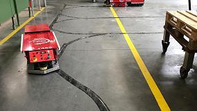 Foto de ASTI desarrolla un sistema multidestino para AGV en la planta alemana de Treif