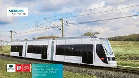 Foto de El tranvía Avenio de Siemens para Doha galardonado con el premio IF Design