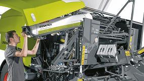 Foto de Nuevo material para el encintado en las rotoempacadoras Claas Rollant 400 Uniwrap