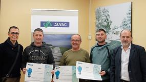 Foto de Alvac entrega sus Premios a la Seguridad 2018