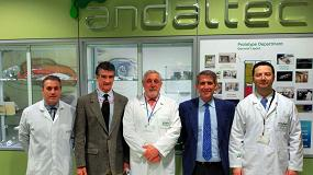 Foto de Responsables de Navantia conocen las instalaciones y servicios tecnológicos de Andaltec