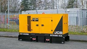 Foto de Motor JCB de seis cilindros para los generadores de Fase IIIA
