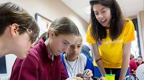 Foto de El interés de las niñas por la ciencia y la tecnología se duplica cuando cuentan con referentes femeninos