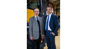 Foto de Entrevista a Henri Marchetta, presidente y fundador de Groupe Mecalac, y a Alexandre Marchetta, consejero delegado del Groupe Mecalac