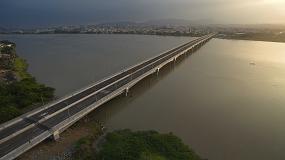 Public works interempresas emagazine eurofinsa construye el puente que enlaza guayaquil con samborondn ecuador malvernweather Images
