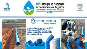 Foto de Molecor participa en el XIV Congreso Nacional de CCRR Fenacore
