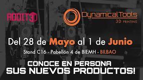 Foto de Dynamical Tools presenta sus nuevos productos en Addit3D
