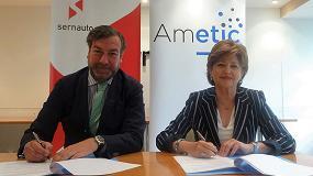 Foto de Ametic y Sernauto firman un convenio para reforzar la colaboración entre el sector TIC y Automoción
