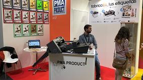 Foto de PMA Product presenta en Hispack 2018 su cortadora troqueladora automática Graphtec I Mark 40