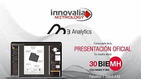 Foto de Innovalia Metrology presenta en BIEMH su más reciente desarrollo tecnológico: M3 Analytics