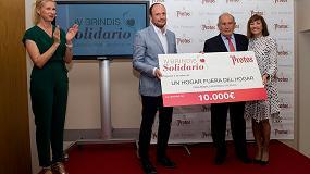 Foto de Bodegas Protos dona 10.000 euros al proyecto 'Un hogar fuera del hogar'