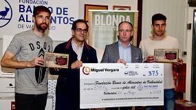 Foto de Ya son 665 kg de carne Miguel Vergara para el Banco de Alimentos