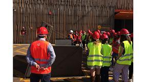 Foto de Veolia abre las puertas de su red de biomasa en Móstoles a estudiantes madrileños