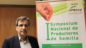 Foto de Entrevista a Fernando Bagüés, presidente de la Asociación de Empresas Productoras de Semillas Selectas (Aprose)