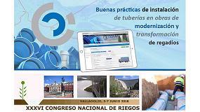 Foto de Molecor, empresa patrocinadora en el XXXVI Congreso Nacional de Riegos