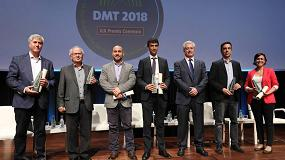 Foto de Optimus recibe el premio 'Connexió' en DMT2018