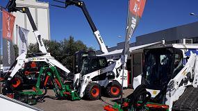Foto de Bobcat participó en la Feria de Montoro junto a su distribuidor GGM