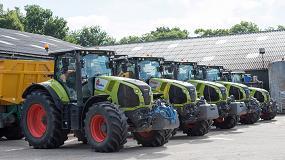Foto de Apollo Vredestein firma un contrato de suministro con Claas Tractor