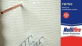 Foto de Nullifire FB750, sellado de aberturas de penetración de servicios contra incendios