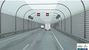 Foto de Tres empresas asociadas a ACEX presentan una solución para crear un microclima que elimine la niebla y mantenga abierto al tráfico el tramo conflictivo de la autovía del Cantábrico