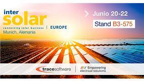 Foto de Trace Software International confirma su participación en Intersolar