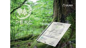 Foto de Ulma obtiene el certificado PEFC en España en reconocimiento a su compromiso con el medio ambiente