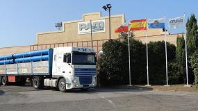 Foto de La fábrica de Saint-Gobain PAM en Santander, una de las más modernas de Europa