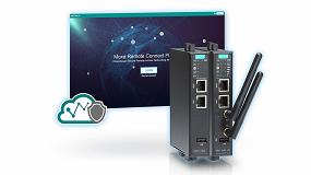 Foto de Moxa presenta una solución de acceso remoto seguro basado en la nube para realizar una conexión sencilla con máquinas