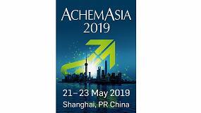 Foto de AchemAsia 2019 tendrá lugar en Shanghai