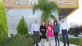 Foto de Aimplas ha participado en un centenar de proyectos relacionados con la sostenibilidad de los plásticos por importe de 100 millones de euros