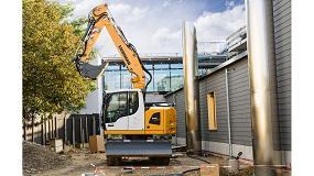 Foto de La nueva excavadora A 914 Compact de Liebherr se muestra extraordinariamente flexible y productiva