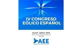 Foto de José Domínguez Abascal, secretario de Estado de Energía, inaugura el IV Congreso Eólico Español de AEE