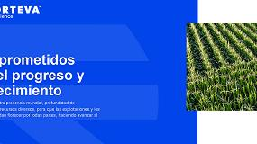 Foto de Corteva Agriscience da sus primeros pasos lanzando su nueva web en español