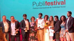 Foto de thyssenkrupp Home Solutions galardonada en dos categorías en el Festival Internacional de Publicidad Social