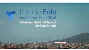 Foto de La Mancomunidad del Sureste de Gran Canaria, Premio a la Integración Rural de la Eólica 2018