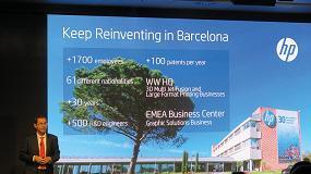 Foto de Entrevista a Luis Christophe, responsable de marketing EMEA de cartón ondulado de HP