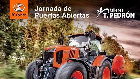 Foto de Talleres Teodoro Pedrón, concesionario Kubota, estrena instalaciones en Requena (Valencia)