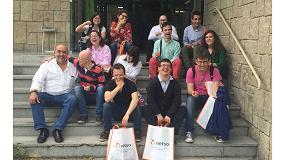 Foto de 21 jóvenes del programa Avanzas de la Fundación Prodis visitan las instalaciones de Metso Minerals España