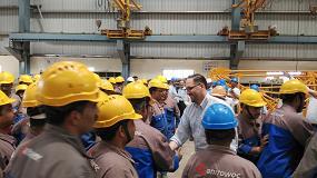 Foto de Manitowoc aumenta su productividad en Asia con una nueva fábrica de grúas torre en la India
