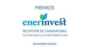 Foto de Abierta la I Convocatoria de los Premios Nacionales EnerInvest