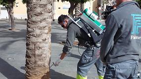 Foto de Una empresa valenciana libra a Carlet de fumigaciones en el mantenimiento de sus jardines