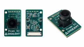 Foto de RS Components distribuye el módulo de generación de imágenes de 5 megapíxeles en color para placas de desarrollo FPGA