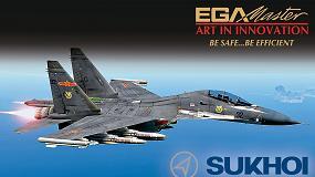Foto de Ega Master, proveedor del fabricante ruso de aviones civiles y militares Sukhoi