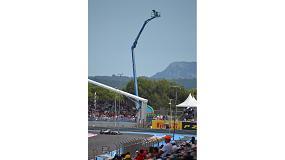 Foto de Genie ofrece una vista en primera línea del Gran Premio Francés de Fórmula 1
