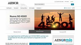 Foto de Los servicios de Aenor, más cerca con su nueva web