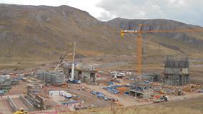 Foto de Ulma participa en el proyecto de construcción de la planta de cal Pachachaca en Perú