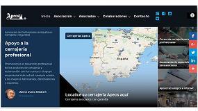 Foto de La Asociación de profesionales de Cerrajería y Seguridad estrena nueva web