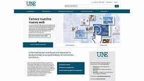 Foto de UNE pone en marcha su nueva web