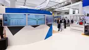Foto de Yaskawa muestra en Automatica 2018 sus innovaciones para la Industria 4.0